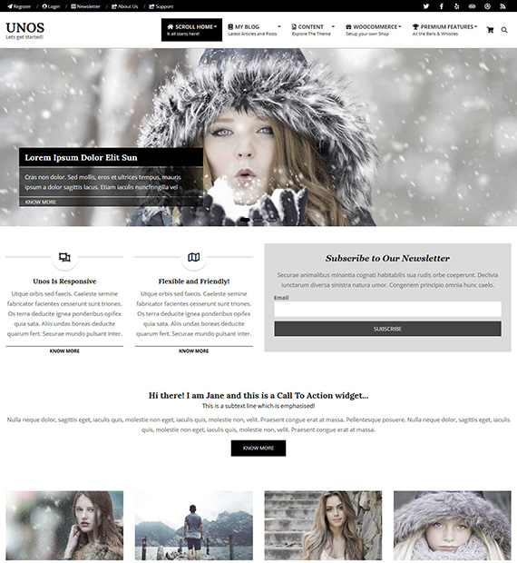 unos-wordpress-business-theme
