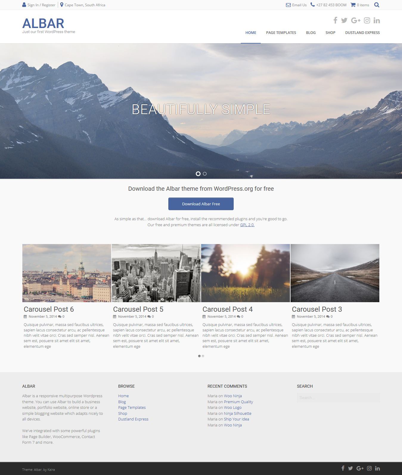 Albar-WordPress-Multipurpose-Theme