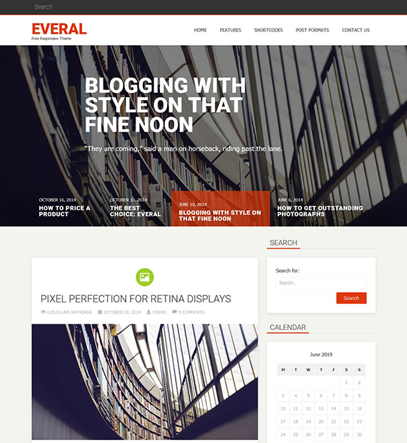 Everal-WordPress-Blogging-Theme