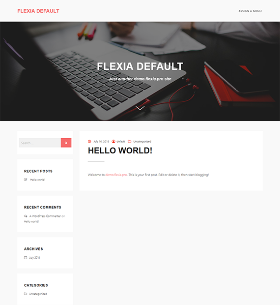 Flexia-wordpress-multipurpose-theme