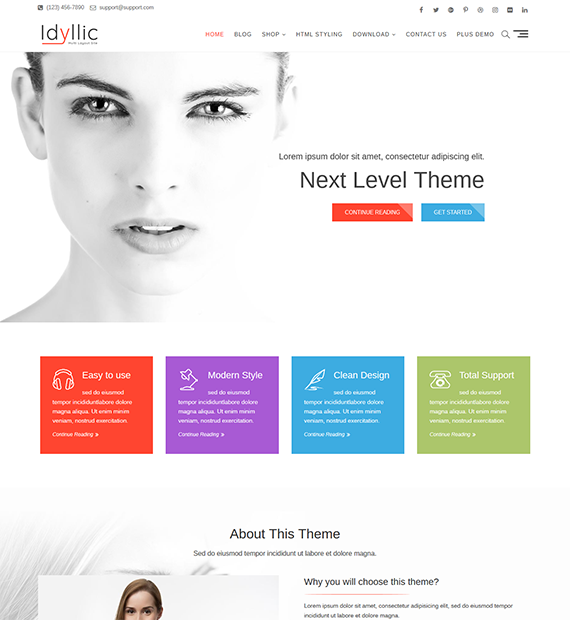 Idyllic-WordPress-Multipurpose-Theme