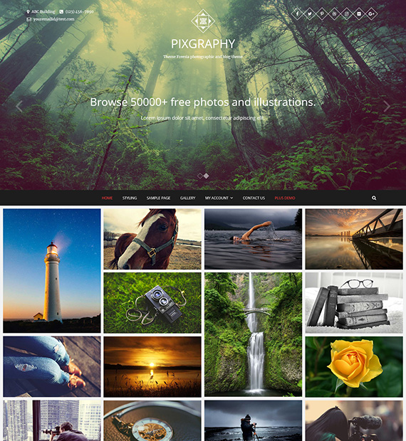 PIXGRAPHY-wordpress-photography-theme