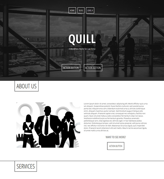 Quill-Business-WordPress-Theme