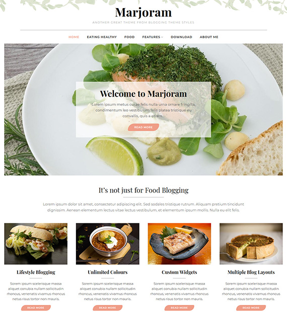 Marjoram-WordPress-Blogging-Theme