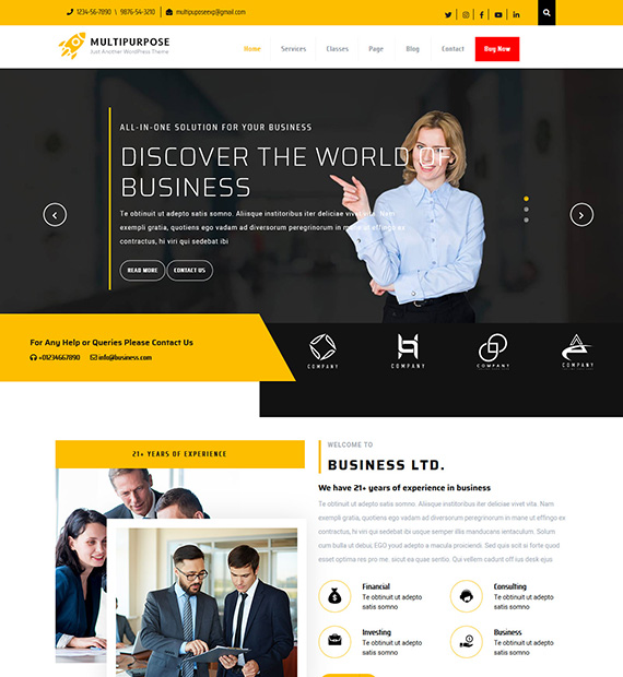 sirat-wordpress-multipurpose-theme