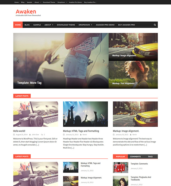 Awaken WordPress Magazine